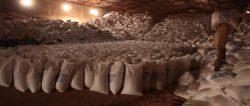 Food aid storage, Ethiopia, 2011; photo cred - Joakim Demmer