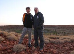 Clive Oppenheimer and Werner Herzog_Wolfe Creek