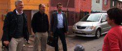 tre advokater och Lars - Andreas Rocksén